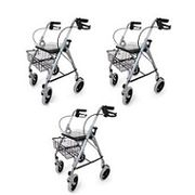 Lot de 3 rollators ROAD